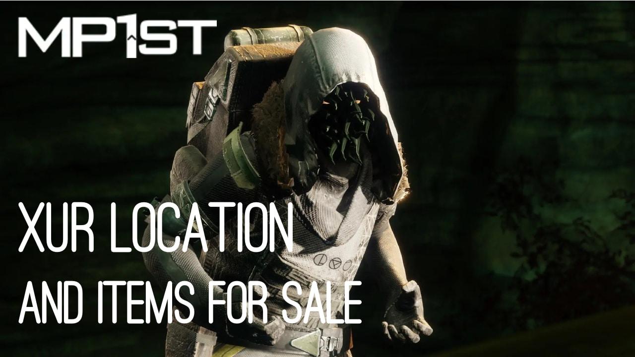 Destiny 2 Xur Location Today October 15