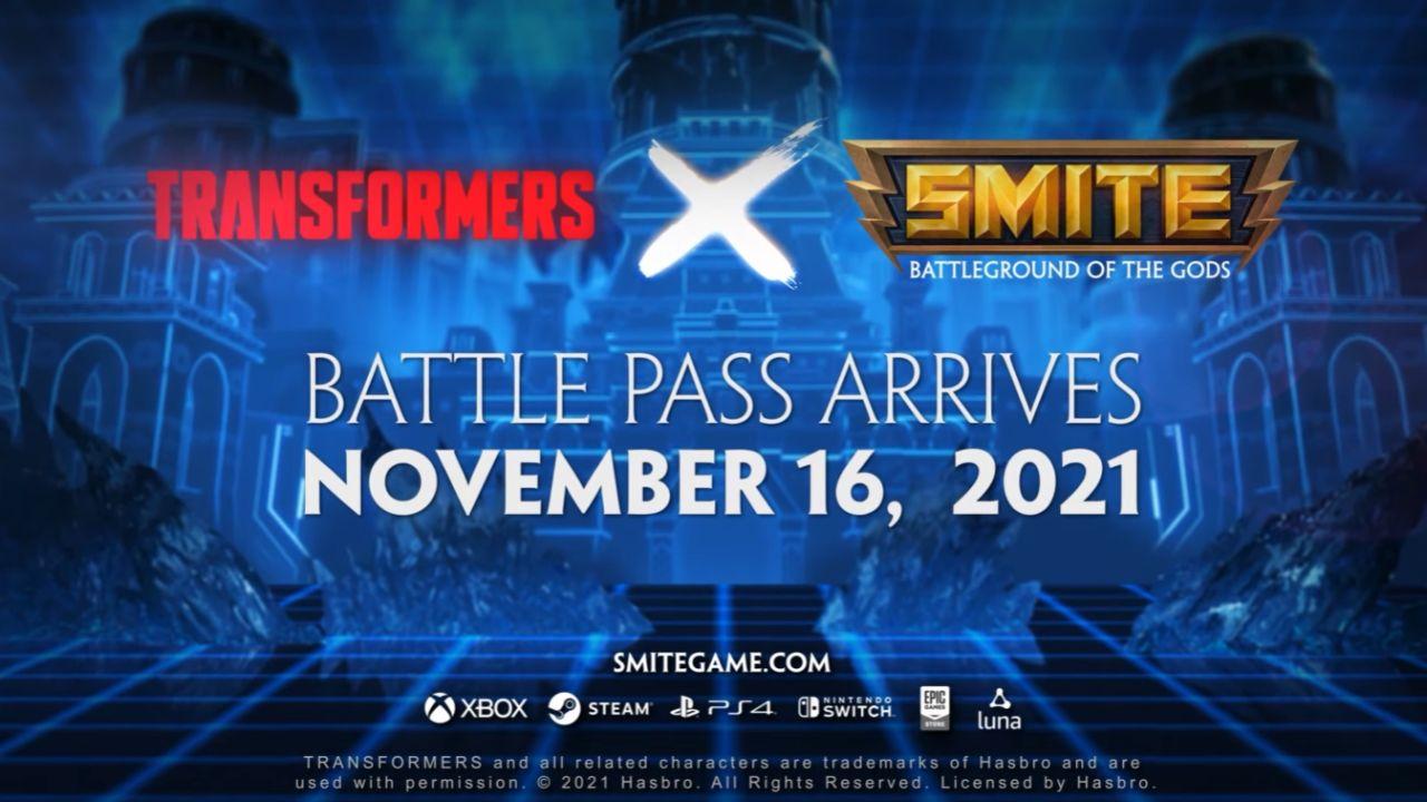Smite X Transformers Crossover Event