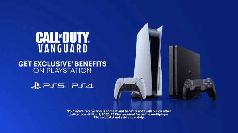 cod vanguard playstation exclusive