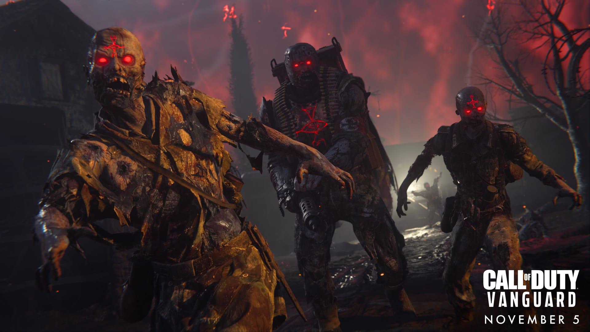 COD Vanguard zombies info overview