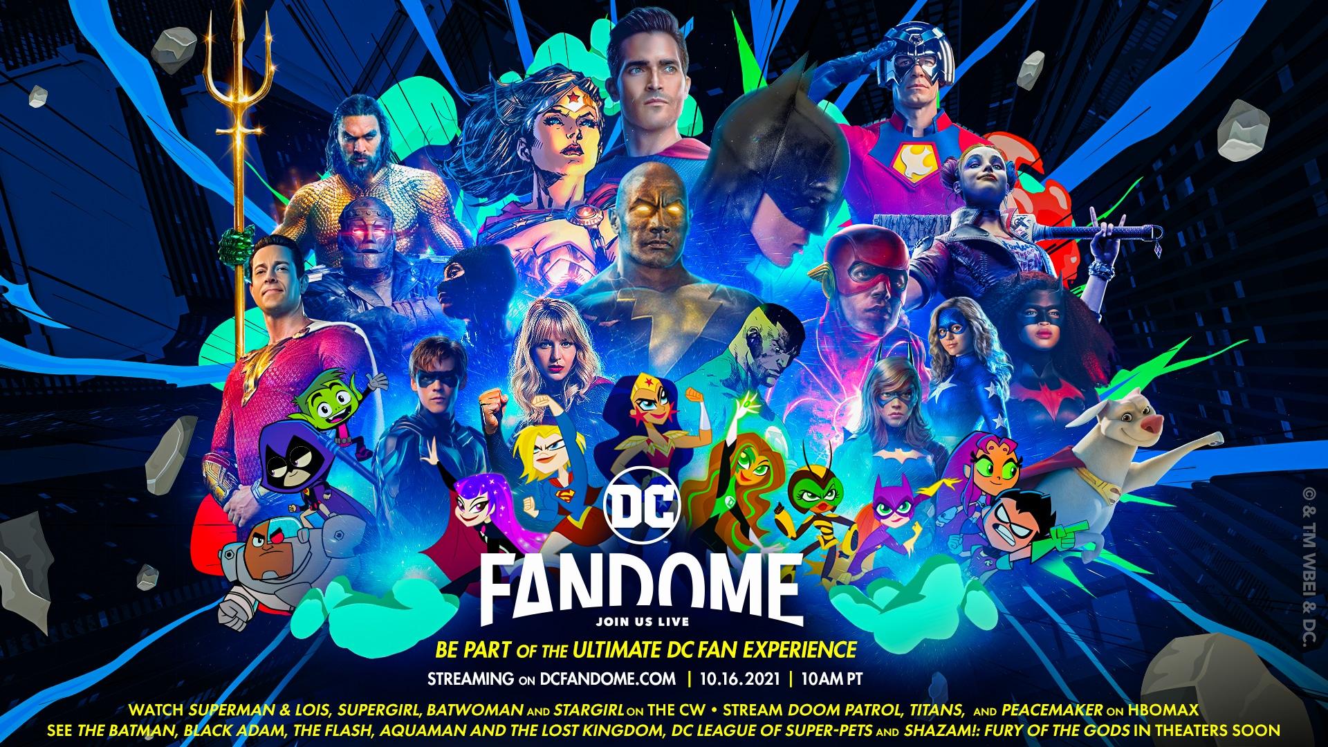 DC Fandome Stream